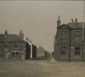 Photograph of various buildings, Blyth, Northumberland.