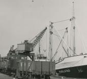 "Photograph of ship ""Fivelstad"", Blyth Harbour, Blyth, Northumberland."