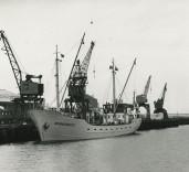 "Photograph of ship ""Admiralengracht"", Blyth Harbour, Blyth, Northumberland"