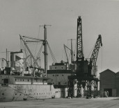 """Photograph of ship """"Stability"""" Blyth Harbour, Blyth, Northumberland"""
