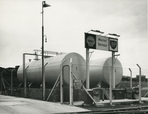 Photographic Album of Quayside Views, Blyth Harbour, Blyth, Northumberland.