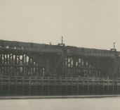 Photograph of under setting of south quay wall, Blyth Harbour, Blyth, Northumberland.