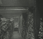 Photograph of under setting of South Quay Wall.