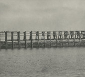 Construction of East Pier Lighthouse Port of Blyth Northumberland