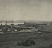 Photograph Land to West of South Harbour, Port of Blyth Northumberland