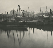 Album of Photographs of Blyth Harbour, Blyth, Northumberland.