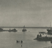 Photograph of Upper Harbour, Blyth, Northumberland.