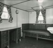 "Photograph of cabin in ""Crofton"", Renfrew, Scotland."