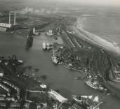 Photograph of Blyth Harbour, Blyth, Northumberland. Negative No. 27968C Turner Photography Ltd. Camera House, Pink Lane, Newcastle upon Tyne