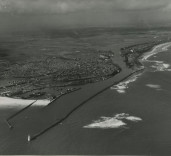 Photograph of Blyth Harbour, Blyth, Northumberland. Taken by Turners, Northumberland St. Newcastle upon Tyne. Ref. 4523A