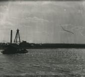 Photograph of ferry Blyth, Northumberland.