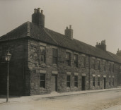 Photograph of houses, Blyth, Northumberland.