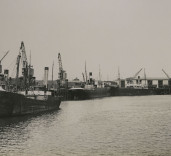 Photograph of Blyth Harbour, Blyth, Northumberland.
