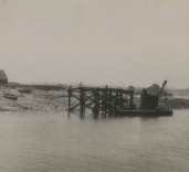 "Photograph of ""Monkey Island"", Blyth Harbour, Blyth, Northumberland."