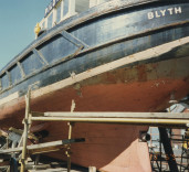 "Photographs of pilot cutter ""Blyth"" in Blyth Harbour, Blyth, Northumberland."
