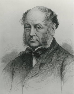 Computer generated portrait of Sir Mathew White Ridley