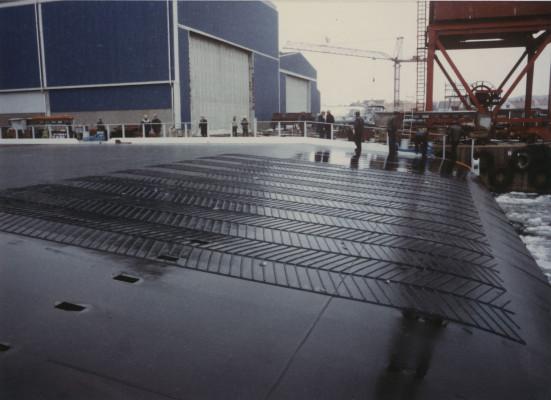 Photograph of STO-RO Terminal