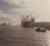 Photograph of Blyth Harbour, Blyth Northumberland.