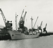 "Photograph of ship ""Admiralengracht"", Blyth Harbour, Blyth, Northumberland"