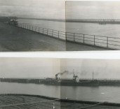 View of Harbour, Blyth, Northumberland