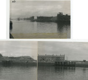 View of Blyth Harbour, Blyth, Northumberland.